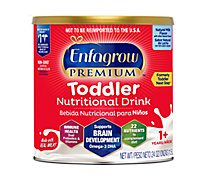 Enfagrow Toddler Next Step Milk Drink 1-3 Years Old Natural Milk Flavor Powder - 24 Oz