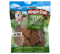 Waggin Train Treats For Dogs Adult Chicken Jerky Tenders Pouch - 11 Oz