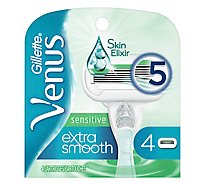 Gillette Venus Cartridges Embrace Sensitive 5 Blades - 4 Count