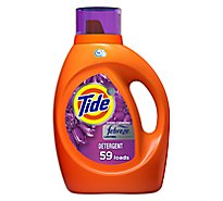 Tide Plus Laundry Detergent Liquid Febreze Freshness HE Turbo Clean Spring & Renewal - 92 Fl. Oz.
