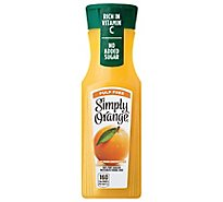 Simply Orange Juice Pulp Free - 11.5 Fl. Oz.