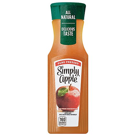 Simply Apple Juice Pure Pressed - 11.5 Fl. Oz.