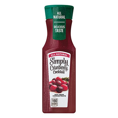 Simply Cranberry Cocktail All Natural - 11.5 Fl. Oz.