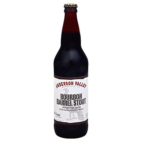 Anderson Valley Bourbon Barrel Stout In Bottles - 22 Fl. Oz.