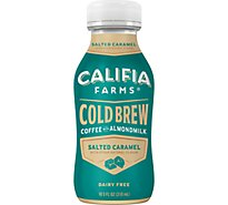Califia Farms Iced Coffee Cold Brew Caramel Salted - 10.5 Fl. Oz.
