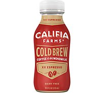 Califia Farms Iced Coffee Cold Brew XX Espresso - 10.5 Fl. Oz.