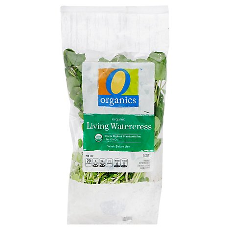 O Organics Organic Living Watercress - Each