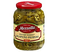 Mezzetta Peppers Jalapeno Deli-Sliced Tamed - 32 Oz