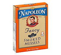 Napoleon Mussels Smoked Fancy - 3.66 Oz