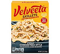 Velveeta Cheesy Skillets Dinner Kit Philly Cheesesteak Style Box - 12.2 Oz
