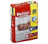 Huggies Snug & Dry Diapers Size 1 Jumbo Pack - 44 Count