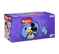 Huggies Little Movers Diapers Size 5 Giant Pack - 96 Count
