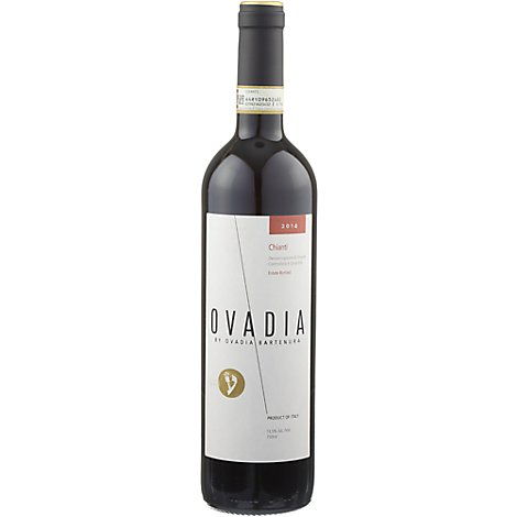 Ovadia Chianti Wine - 750 Ml