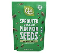Go Raw 100% Organic Sprouted Celtic Sea Salt Pumpkin Seeds - 1 Lb