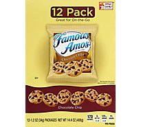 Famous Amos Cookies Chocolate Chip Bite Size - 12-1.2 Oz