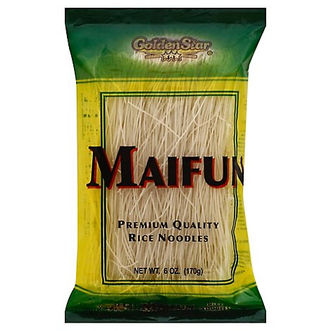 Golden Star Maifun Rice Noodles - 6 Oz
