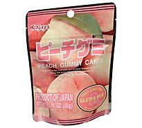 Kasugai Gummy Peach - 1.76 Oz