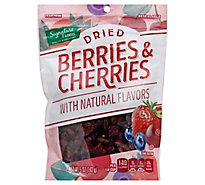 Signature Farms Berries & Cherries Dried - 5 Oz