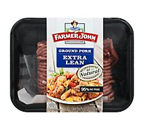 Farmer John Extra Lean Fresh Ground Pork - 16 Oz