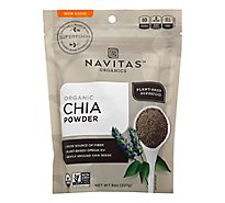 Navitas Naturals Chia Powder Sprouted - 8 Oz