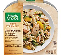 Healthy Choice Cafe Steamers Chicken Grilled Pesto with Vegetables - 9.9 Oz