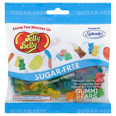 Jelly Belly Gummi Bears Sugar Free - 2.8 Oz