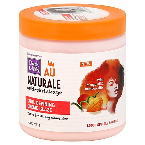 Dark And Lovely Au Naturale Curl Defining Creme Glaze - 14.4 Oz