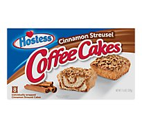 Hostess Coffee Cakes Cinnamon Streusel - 11.6 Oz