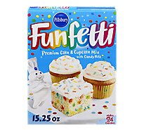 Pillsbury Funfetti Cake Mix Spring With Candy Bits - 15.25 Oz