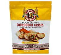 Boudin Three Cheese Sourdough Crisps - 6 Oz
