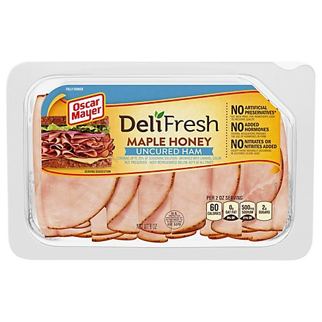 Oscar Mayer Deli Fresh Ham Bold Maple Honey - 8 Oz