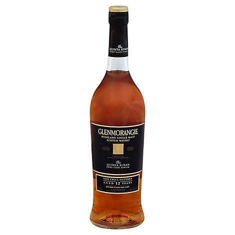 Glenmorangie Whisky Scotch Single Malt Highlands The Quinta Ruban Port Cask Finish 92 Proof - 750 Ml