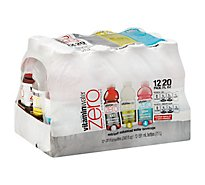 vitaminwater Zero Water Beverage Nutrient Enhanced Variety Pack - 12-20 Fl. Oz.