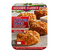 Dockside Classics Lobster Cakes Gourmet 4 Count - 12 Oz