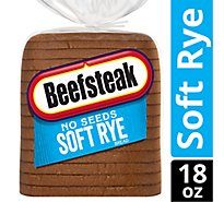 Beefsteak Bread Soft Rye No Seeds - 18 Oz