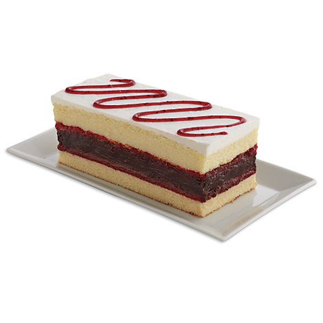 Bakery Cake Strawberry 10 Inch 1 Layer - Each
