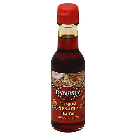 Dynasty Oil Sesame Oil Premium Hot - 5 Oz