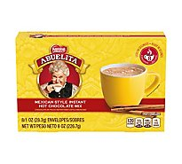 Nestle Abuelita Hot Chocolate Drink Mix Instant Mexican Style Envelopes - 8-1 Oz
