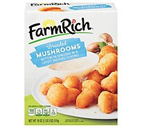 Farm Rich Frozen Bake Breaded Mushrooms - 18 Oz