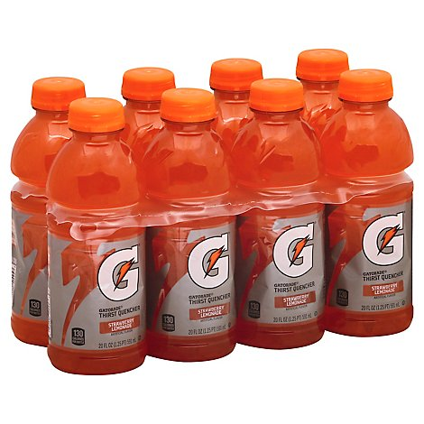 Gatorade G Series Thirst Quencher Strawberry Lemonade - 8-20 Fl. Oz.