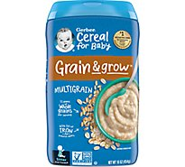 Gerber Cereal MultiGrain - 16 Oz