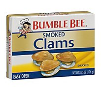 Bumble Bee Clams Premium Select Fancy Smoked - 3.75 Oz