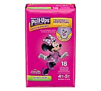 Pull Ups Training Pants Girl 4T-5T Jumbo Pack - 18 Count