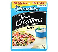 StarKist Tuna Creations Tuna Chunk Light Ranch - 2.6 Oz