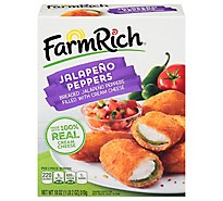 Farm Rich Snacks Jalapeno Peppers Breaded With Cream Cheese - 18 Oz