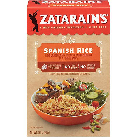 Zatarains New Orleans Style Sides Spanish Rice - 6.9 oz