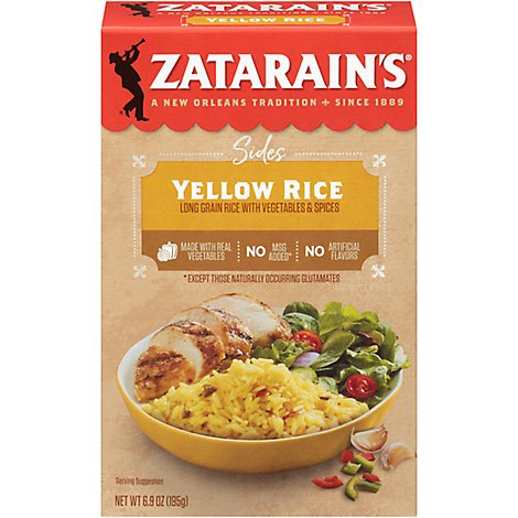 Zatarains Mix Rice Yellow - 6.9 Oz