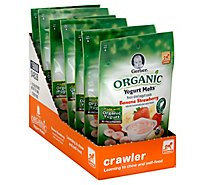 Gerber Organic Yogurt Melts Banana Strawberry 1 Oz