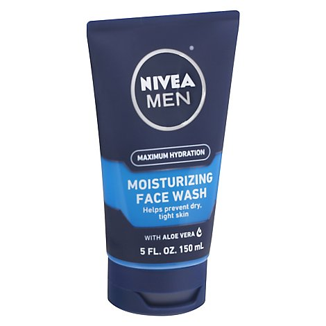 Nivea For Men Double Action Face Wash - 5 Fl. Oz.