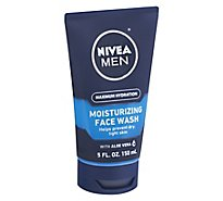 NIVEA MEN Maximum Hydration Moisturizing Face Wash - 5 Fl. Oz.